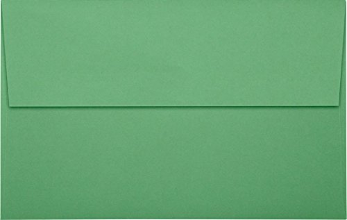 [A10 Invitation Envelopes w/Peel & Press (6 x 9 1/2)- Holiday Green (50 Qty) | Perfect for Invitations, Greeting Cards, Thank You Cards, Announcements and so much more! | 67229-50] (Green Holiday Invitation)