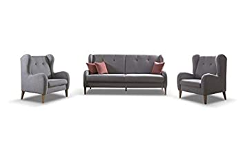 Mb Moebel Polstergarnitur Sofa Sessel 3 1 1 Möbel Set Mit