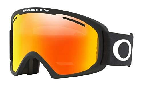 Oakley 59-084 02 XL Snow Goggle, Matte Black with Fire Iridium Lens