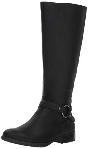 LifeStride Women's X-Felicity Wide Calf Tall Shaft Boot Knee High, Black wc, 8.5 W US