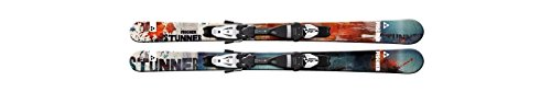 2015 Fischer Stunner 111cm Jr Twin Tip Skis with FJ4 AC -