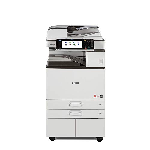 (Ricoh Aficio MP 2554 Ledger/Tabloid-size Mono Laser Multifunction Copier - 25ppm, Copy, Print, Scan, 2 Trays and Stand (Renewed))