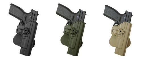 Concealed Carry Pistol Hand Gun Polymer Retention Roto Holster SPRINGFIELD XD 9mm/.40/.45, XDM 9mm, HS2000 Black IMI RSR Defence Gun / Pistol Holster
