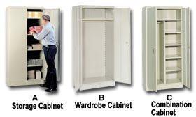 Lyons Metal Prod (Govt Sales)., Unassembled Cabinets, H1006, Size Wx