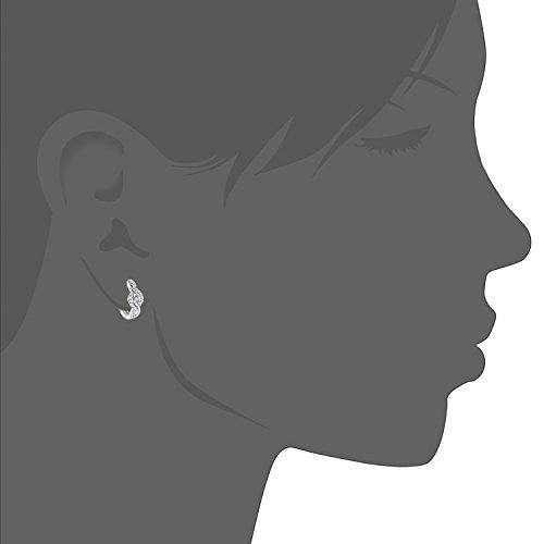 Citerna - Citerna femme  9carats (375/1000)  Or blanc #Gold Rond   Blanc Zirkonia