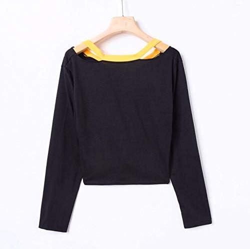 Toraway Women Long Sleeve Sequins Pocket Splicing Striped Hooded Pullover Tops Women Blouse