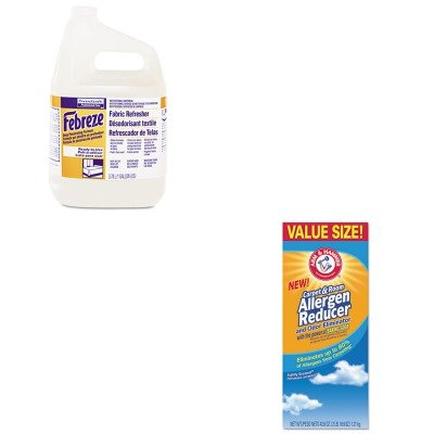 KITCHU3320084113PAG33032CT - Value Kit - Febreze Fabric Refresher amp;amp; Odor Eliminator (PAG33032CT) and Arm And Hammer Carpet amp;amp; Room Allergen Reducer amp;amp; Odor Eliminator (CHU3320084113) by Febreze