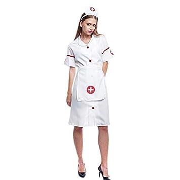 Disfraz Enfermera Mujer Adulto para Carnaval Profesiones (Talla L ...