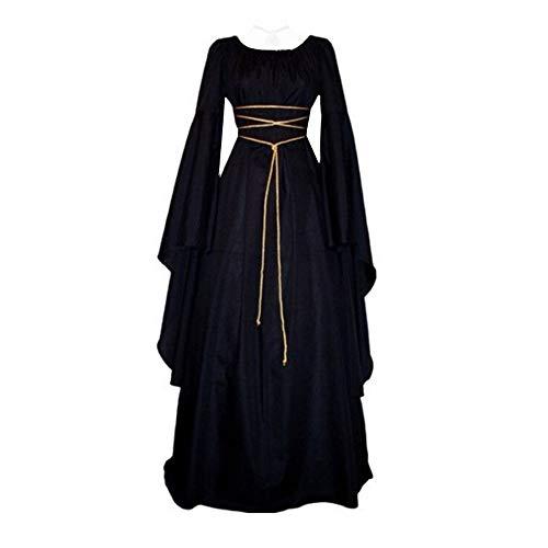 Honhui Womens Renaissance Medieval Costume Dress Gothic Victorian Fancy Dresses
