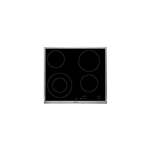 VITROCERAMICA AEG HK624010XB MARCO INOX,: Amazon.es: Hogar