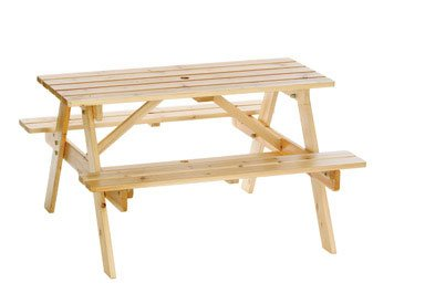 Astonica Junior Wooden Picnic Table for Kids by Astonica (Image #1)