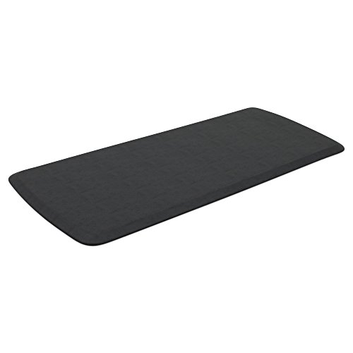"GelPro Elite Premier Anti-Fatigue Kitchen Comfort Floor Mat, 20x48"", Vintage Leather Slate Stain Resistant Surface with Therapeutic Gel and Energy-return Foam for Health and Wellness by GelPro (Image #2)'"