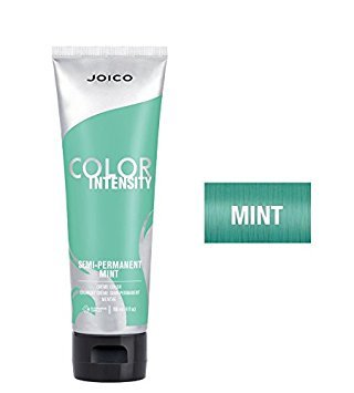 Joico Color Intensity Semi-Permanent Creme Hair Color (with Sleek Tint-Brush) (Mint) (Hair Dye Mint)