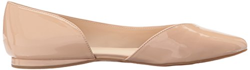 Nine West Women's Shelomi Synthetic Ballet Flat Natural Synthetic Y8oPq4Zqks