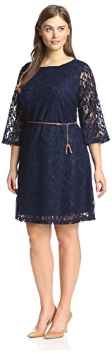 Buy belted lace shift dress - 5