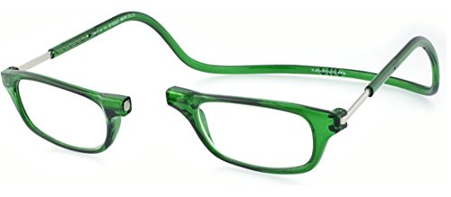 Clic Magnetic Reading Glasses in Emerald +1.50