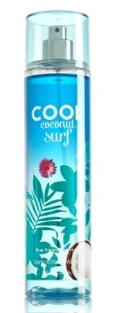 Fine Fragrance Mist Cool Coconut Surf 8 Ounce Full Size Spray ()