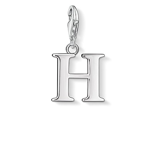 """Thomas Sabo Letter """"H"""" Charm, Sterling Silver"""