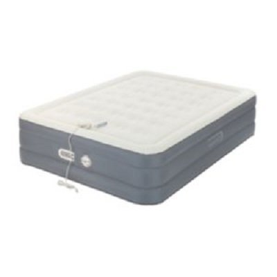 AeroBed Premier Collection Adjustable Comfort Air Mattress 18 inch, Queen ()