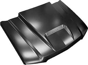 (Key Parts 0856-043 Steel Cowl Induction Hood)