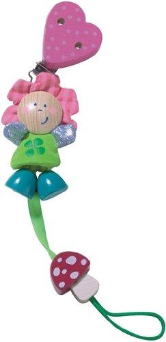 Haba 3707 - Cadena para chupete de bebé, diseño de flores ...