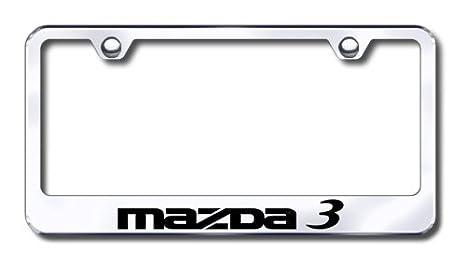 Amazon.com: Mazda 3 License Plate Frame: Automotive