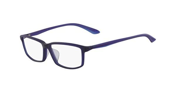 5c0e5da259 Eyeglasses NIKE 7913 AF 416 SATIN DARK BLUE WITH CRYSTAL TEMPLE at Amazon  Men s Clothing store