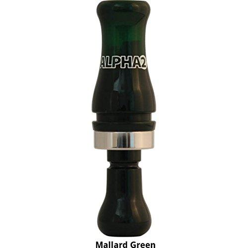 RNT Alpha 2 Duck Call (Mallard Green)