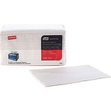 staples-tork-xpressnap-napkin-1-ply-white-200-per-pack