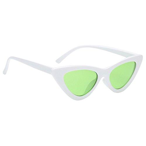 Cat Soleil Eye Sunglasses De Mode Lunettes fram En Yeux Femmes Air MagiDeal Plein Chat blanc Classique vdSqgwvx5