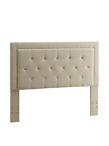 Linon Clayton King Size-Natural Linen 13-C187 Headboard