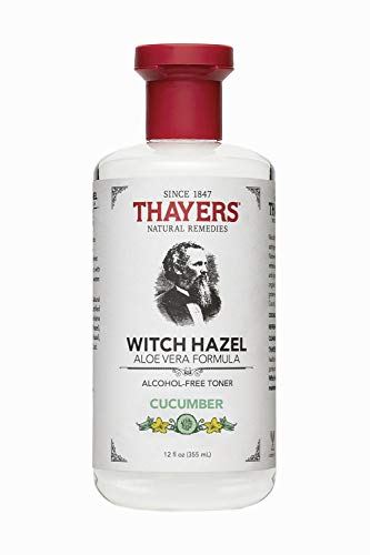 - Thayer Cucumber Witch Hazel With Aloe Vera Formula, 12 Fluid Ounce (Facial Toner)