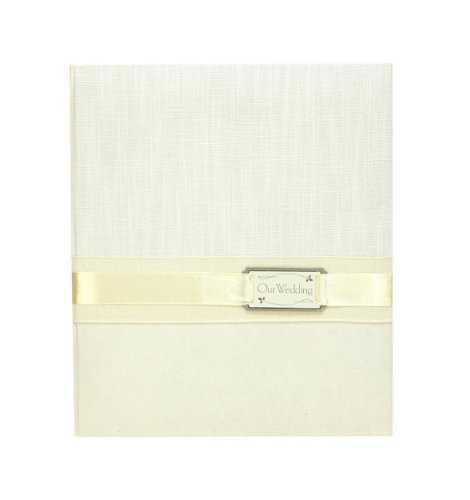 C.R. Gibson Loose Leaf Memory Wedding Photo Album, Candlelight