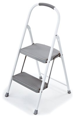 (Rubbermaid RMS-2 2 Step, Steel Step Stool - Quantity 3)