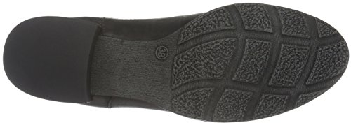 Tamaris Damen 25342 Chelsea Boots Schwarz (Black Antic 002)