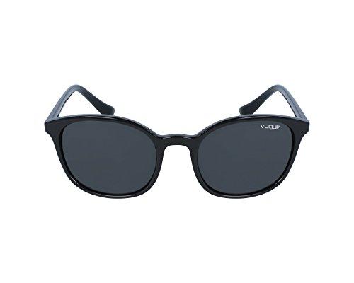 Vogue Eyewear Womens Sunglasses (VO5051) Black/Grey Plastic - Non-Polarized - - Vogue For Men Eyewear