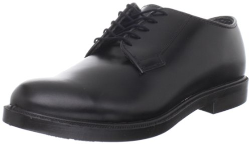 Bates Men's Leather Durashocks Work Shoe,Black,9 D US Bates Mens Leather Oxford