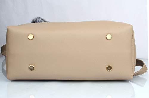 Mammon Women's stylish Beige Handbags (LR-bib-Cream)