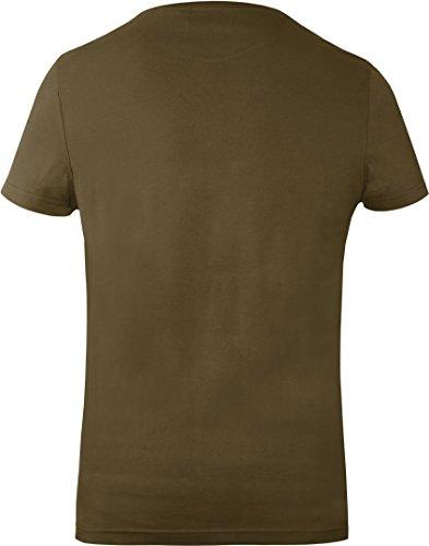 GOZOO star-wars T-Shirt Herren Shattered Dark Side 100% Baumwolle Grün