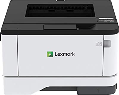 Lexmark B3340dw Monochrome Laser Printer with Wireless, USB & Ethernet Capabilities, Two-Sided Printing, and Full Spectrum Security All in a Compact, Durable Steel Frame (29S0250)
