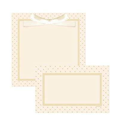 image regarding Printable Invitations known as : Amscan Celebration Ideal Sq. Ivory Dots Printable