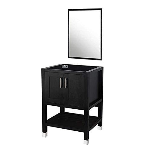 DOIT 24 inch Wood Bathroom Cabinet ,with Bathroom Vanity Mirror,No Sink,Modern Bathroom -