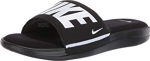 Nike Men's Ultra Comfort 3 Slide Sandal Black/White Size 12 M US