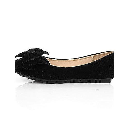 cc1b2584426 De alta calidad PDX de zapatos de mujer ante talón plano tipo Mocasín Punta