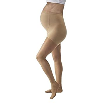 34eaa694477 Image Unavailable. Image not available for. Color  JOBST UltraSheer 8-15  mmHg Closed Toe Maternity ...