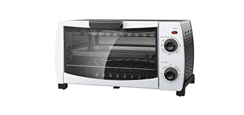 (Mainstays 4-Slice Toaster Oven, White)