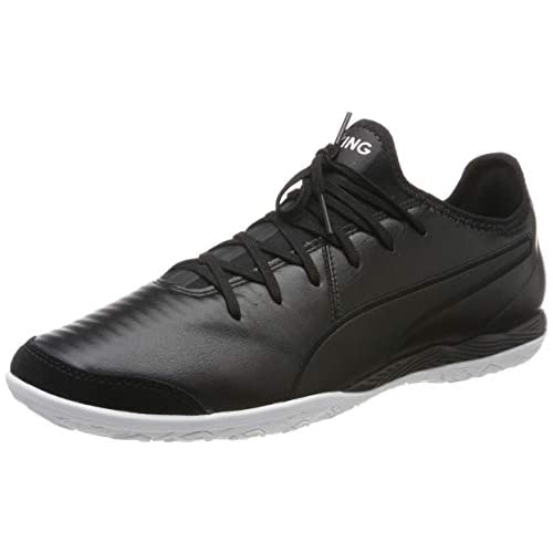 chollos oferta descuentos barato PUMA King Pro IT Zapatillas de fútbol Unisex Adulto Negro Black White 37 EU