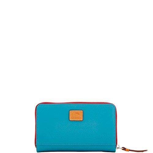 Bourke Dooney Around Zip Wallet (Dooney & Bourke Patterson Leather Zip Around Organizer)
