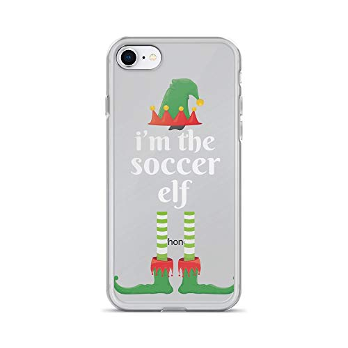 iPhone 7/8 Pure Clear Case Cases Cover I'm The Soccer Elf Matching Family -