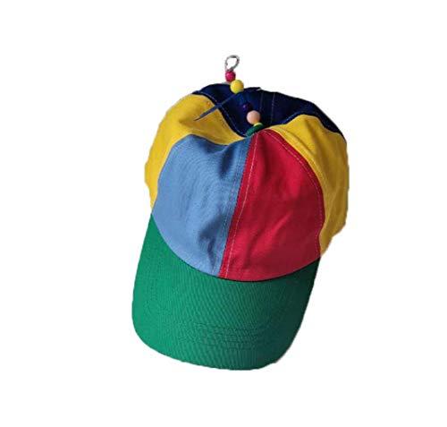 Junson Parent-Child Baseball Cap, Adjustable Strapback Hat Cotton Baseball Cap (Mom or Dad)